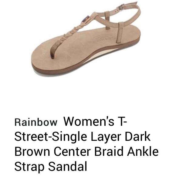 5df73c1bd528 Brand New rainbow sandals. Braided w ankle strap. M 5b86f2379264afbab1ff2f45